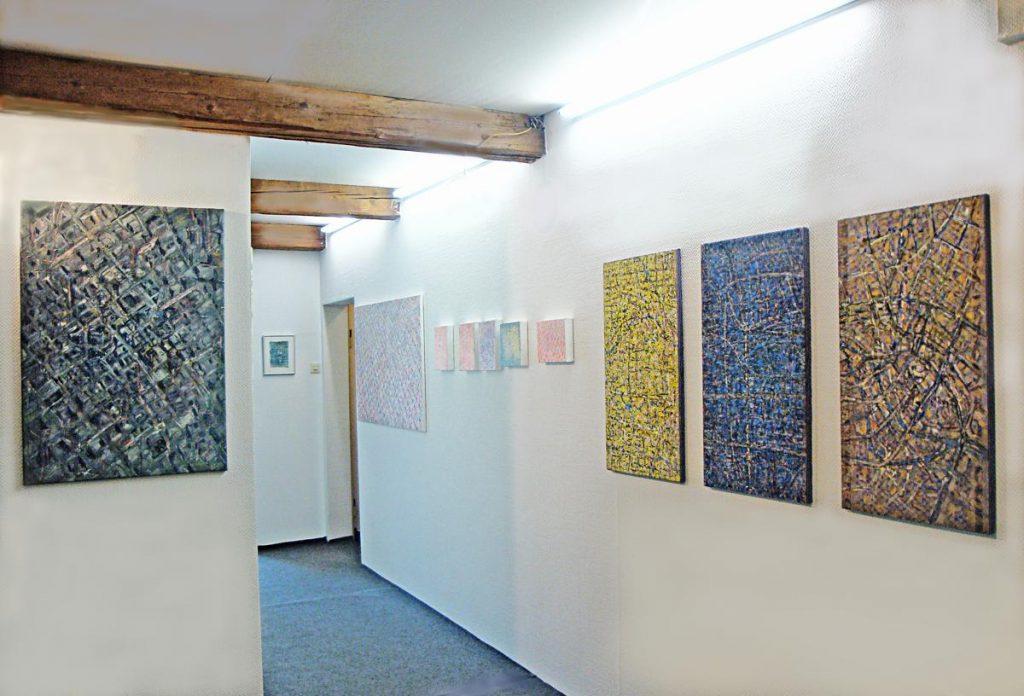 """""""licht und dicht"""", Ausstellung mit Gerd A. Zwing, Galerie in Zabo, Nürnberg 2012"""