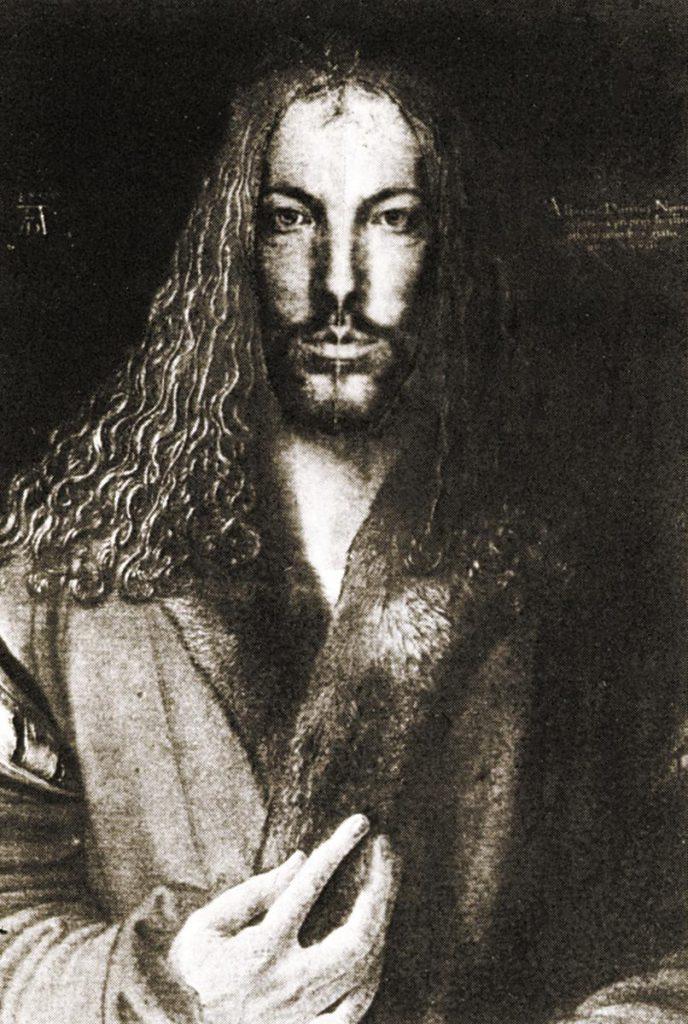 """""""Dürer selbstgleich 2"""", Copycollage"""