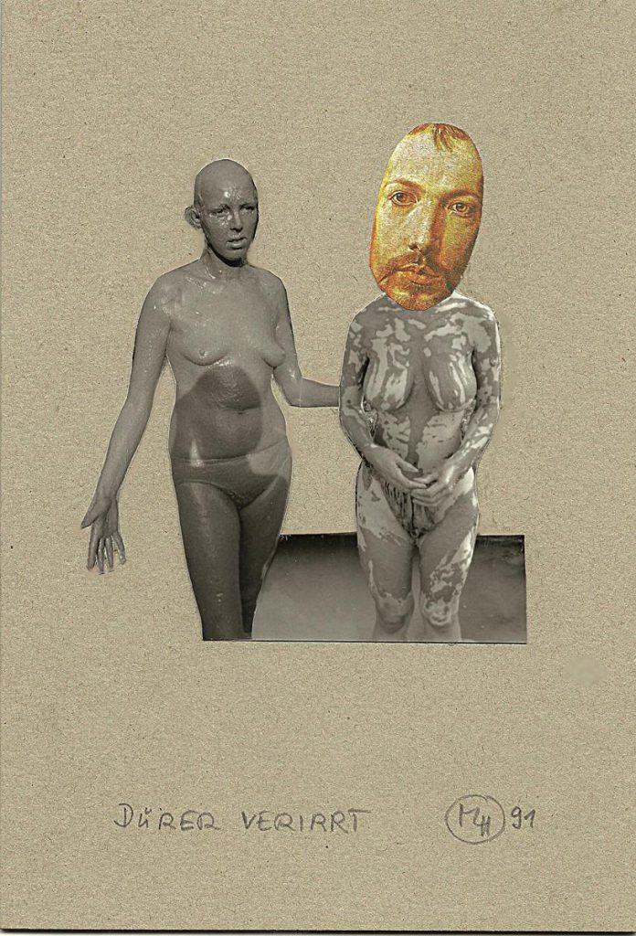 """""""Dürer verirrt"""", Collage"""