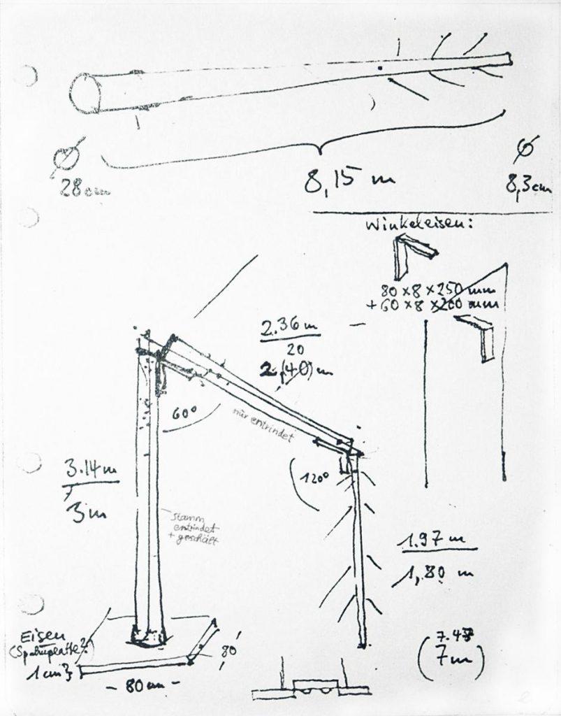 Entwurf für Baumobjekt