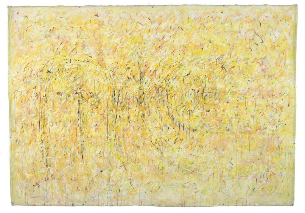"""Labyrinthstück 5"", Acryl auf Leinwand, 200 x 300 cm, 1997"
