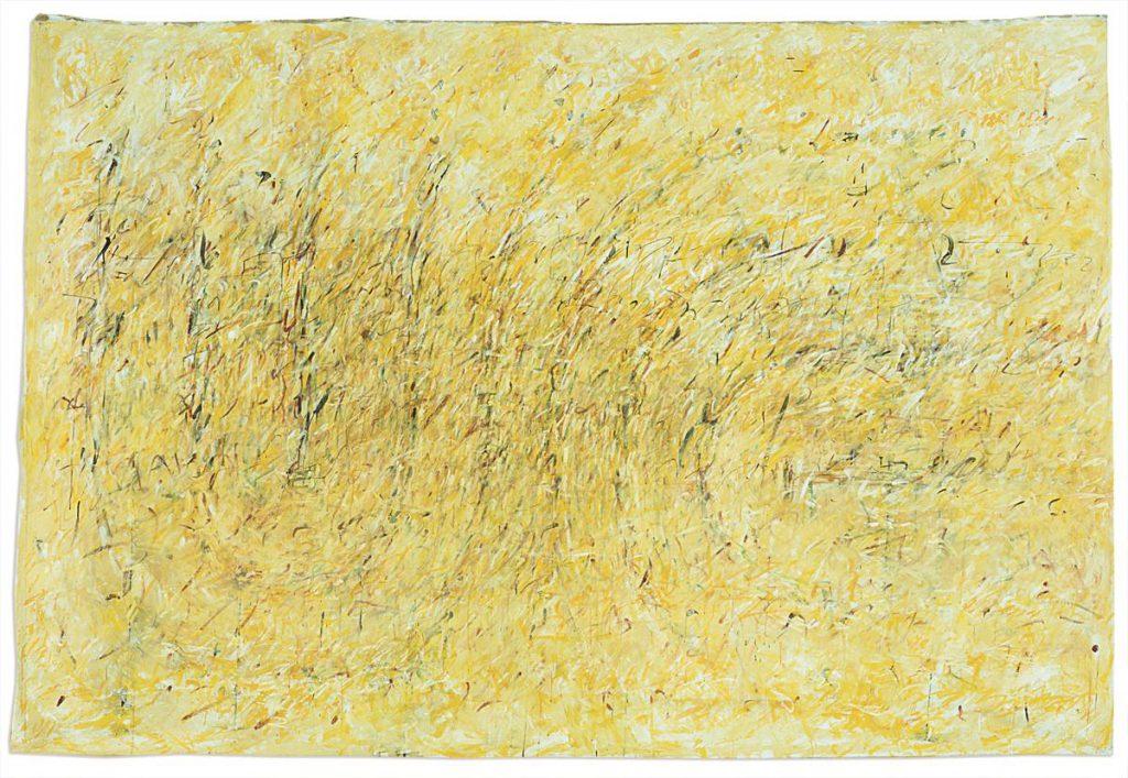 """Labyrinthstück 3"", Acryl auf Leinwand, 200 x 300 cm, 1996"