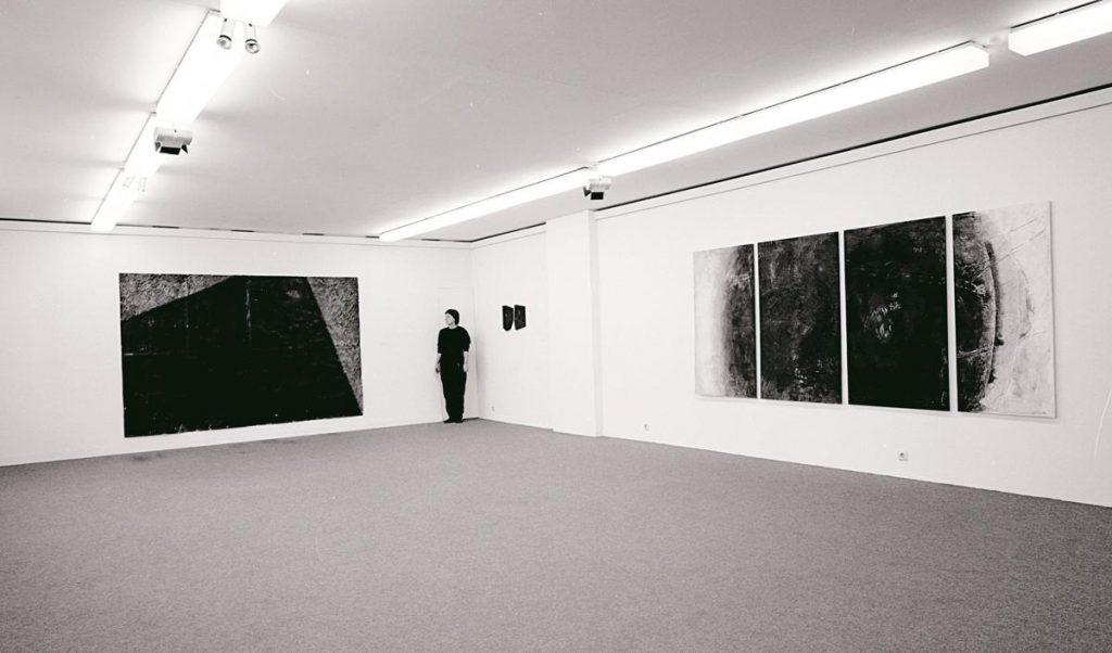 Ausstellungsfoto Kunsthaus Nürnberg 1991