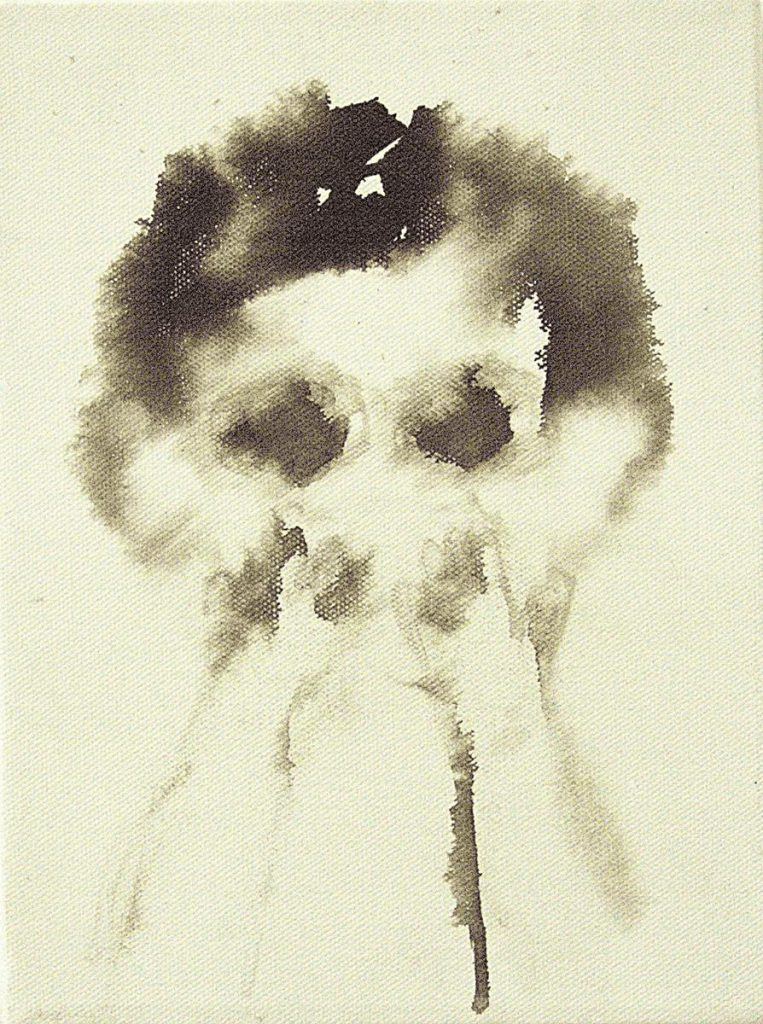 """""""The artist's brother as a child 1"""" (at night), 2006"""