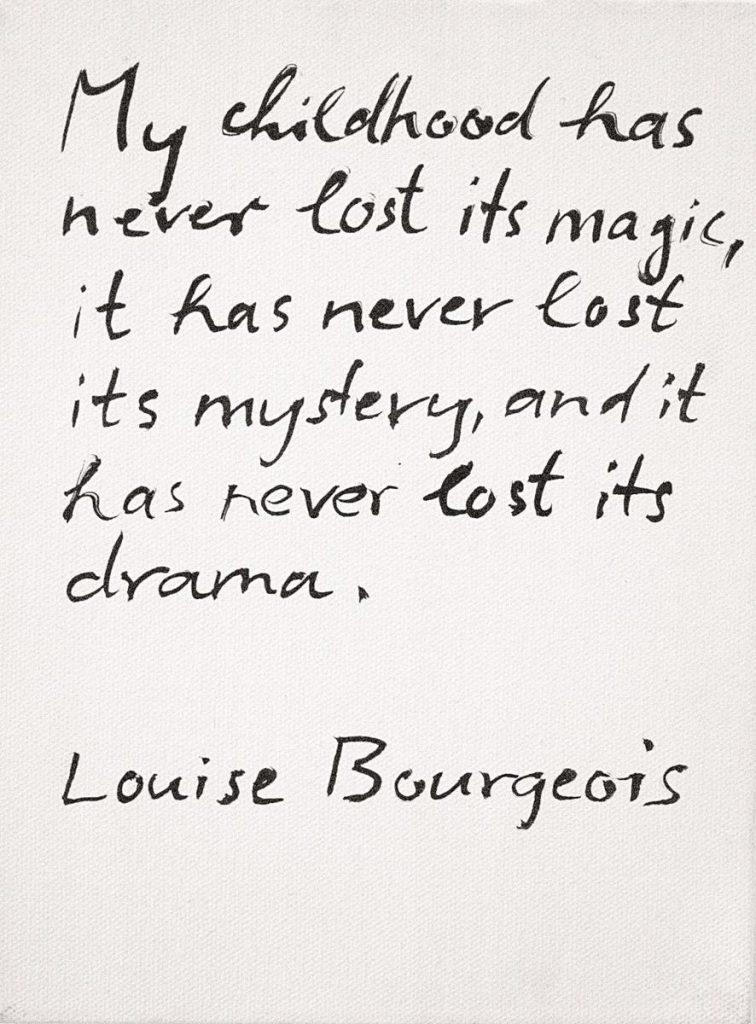 Text von Louise Bourgeois