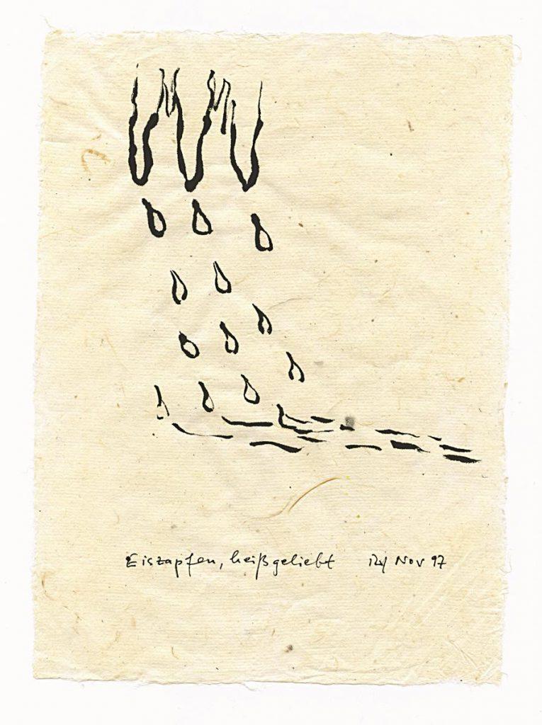 """""""Eiszapfen heiß geliebt"""", 1997"""