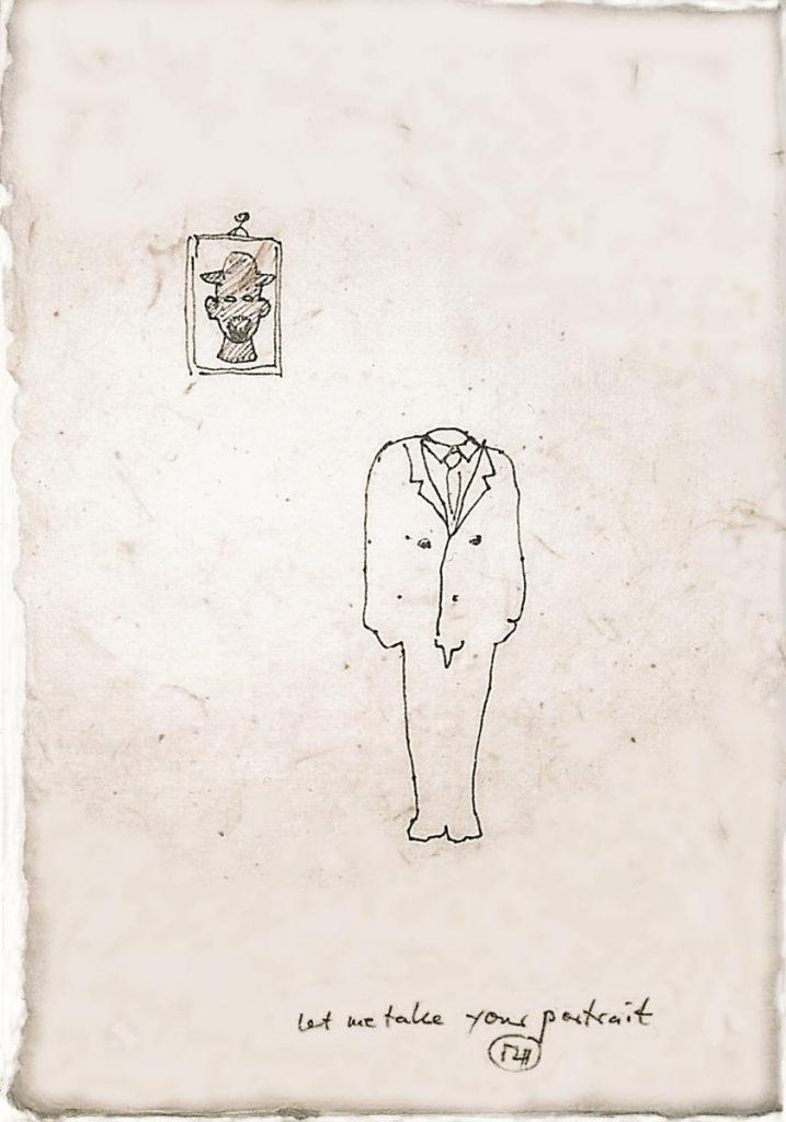 """""""Let me take your portrait 1"""", 2004"""