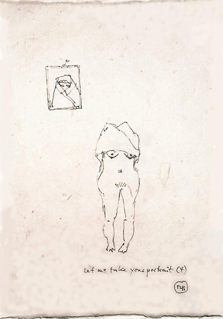 """""""Let me take your portrait 2"""", 2004"""